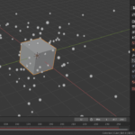 [Blender 2.8] データのキャッシュの保存やベイキング  [パーティクルシステム]