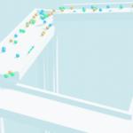 Blender リジッドボディ リジッドボディワールド 物理シミュレーション 3DCG モデリング 物理演算 ボール 滑り台 スライダー
