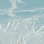 [Blender 2.8] パーティクルのパスに沿ってメッシュを変形 [パーティクルインスタンスモディファイアー]