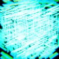 Blender パーティクルシステム ヘアー 頂点グループ 立方体 Cube 3DCG