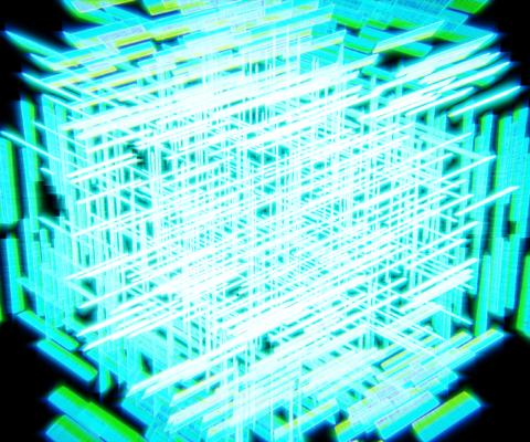 [Blender 2.8] 『頂点グループ』で操作 [パーティクルシステム]