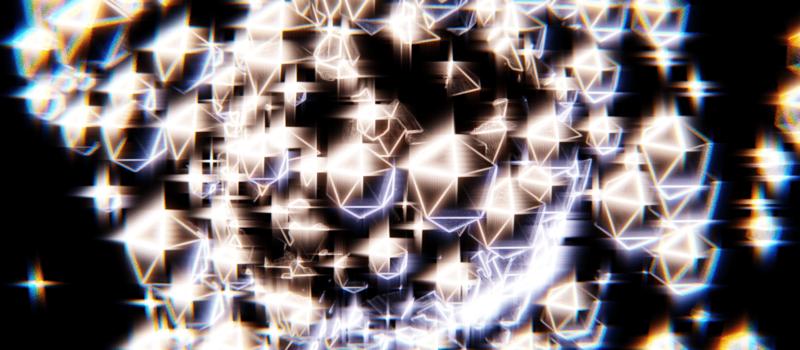 Blender パーティクルシステム ICO球 UV球 オブジェクト エミッター 3DCG
