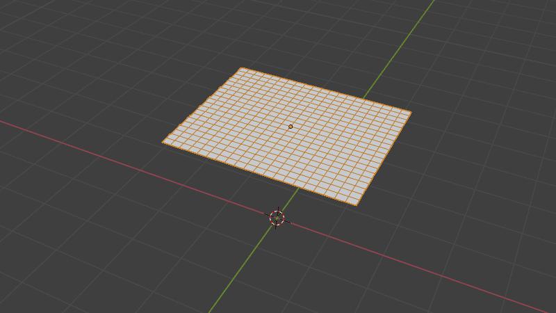 Blender クロス シミュレーション 3DCG モデリング メッシュ