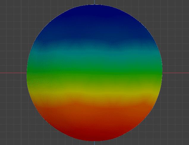 Blender 頂点グループ ウェイトペイント 3DCG モデリング