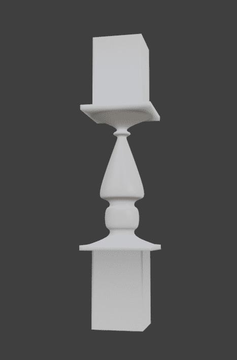 Blender キャスト スクリュー サブディビジョンサーフェス モディファイアー 3DCG モデリング