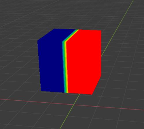 Blender ソフトボディ 物理シミュレーション 3DCG ウェイトペイント 頂点グループ