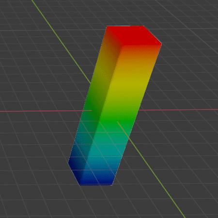 Blender シンプル変形 モディファイアー 3DCG モデリング 頂点グループ ウェイトペイント