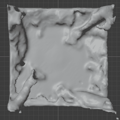 Blender 流体 物理シミュレーション ドメイン 液体 3DCG