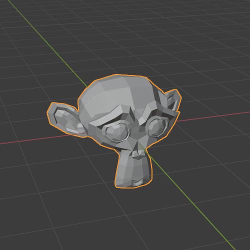Blender モンキー メッシュ 3DCG