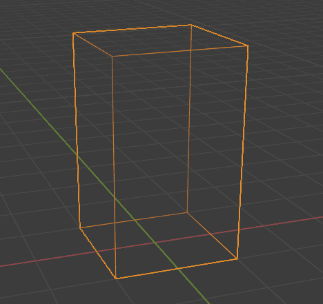 Blender メッシュ Cube 立方体 3DCG