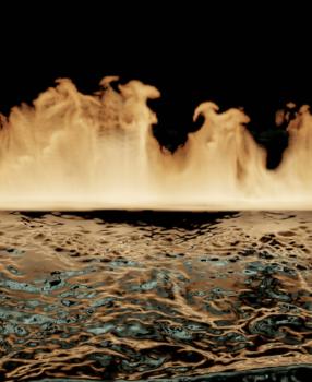 [Blender 2.9] 煙や炎、液体の表現 [流体シミュレーション]