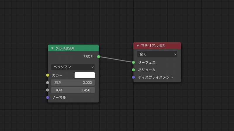 Blender マテリアル シェーダーエディター 3DCG