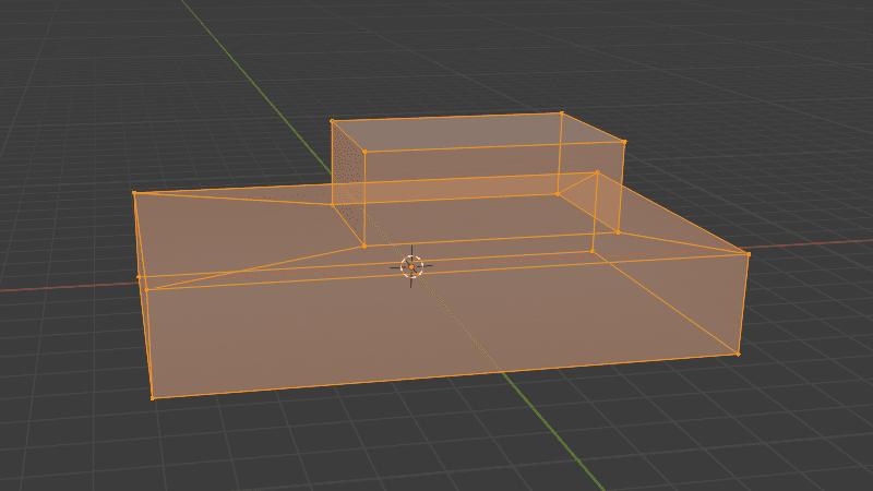Blender メッシュオブジェクト 編集モード 3DCG モデリング