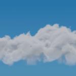 Blender ボリューム変形 モディファイアー 3DCG モデリング メッシュのボリューム化 雲