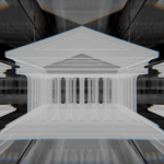 Blender メッシュのボリューム化 モディファイアー 3DCG モデリング ボリューム 神殿